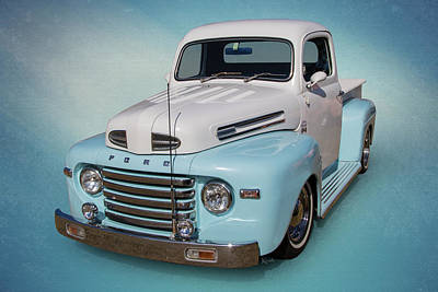 Photograph - Pastel Pickup by Keith Hawley