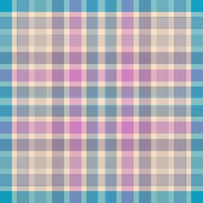 Digital Art - Pastel Plaid Pattern by Gina Lee Manley