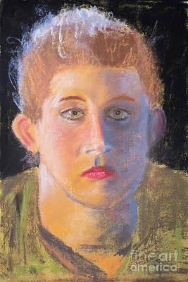 Painting - Pastel Portrait by Edward Fielding