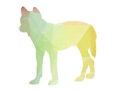 Pup Digital Art - Pastel Pup by Andrea Miller