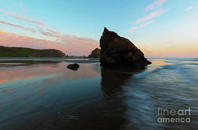 Pastel Sunset Photograph - Pastel Reflections by Mike Dawson