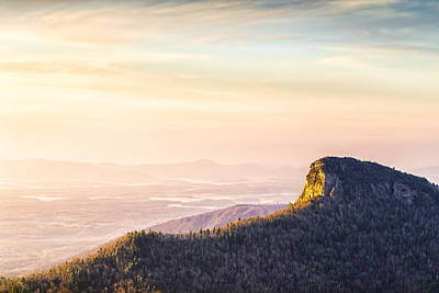 Table Rock Mountain - Linville Gorge North Carolina Art Print