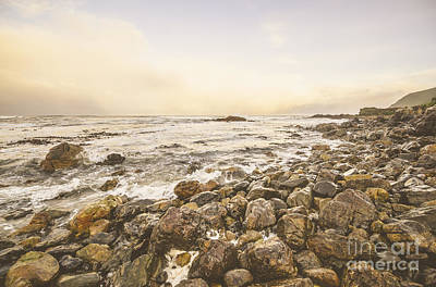 Trial Photograph - Pastel Sea Landscape by Jorgo Photography - Wall Art Gallery