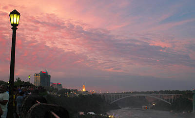 Photograph - Pastel Skies Over Rainbow Bridge by Living Color Photography Lorraine Lynch