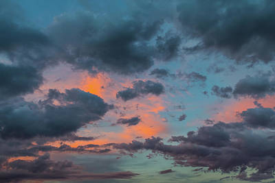 Photograph - Pastel Skies by SR Green