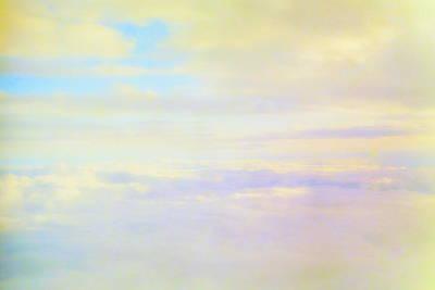 Sun Moon And Sky Photograph - Pastel Sky by Deborah  Crew-Johnson