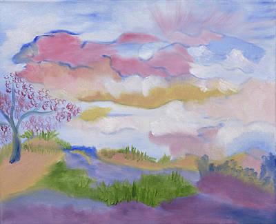 Painting - Imagine by Meryl Goudey