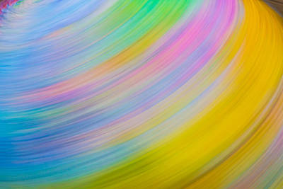 Digital Art - Pastel Spin by Samantha Thome
