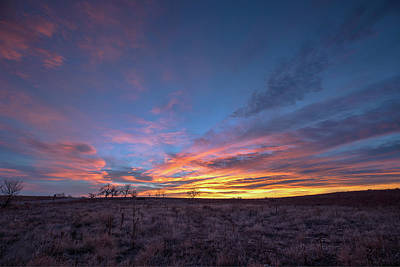 Photograph - Pastel Sunrise On The Great Plains by Tony Hake
