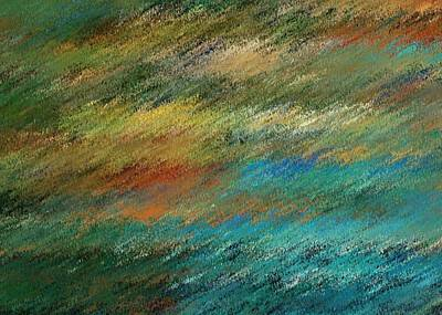 Digital Art - Pastel Sunset by David Manlove