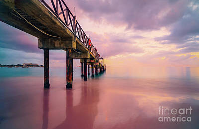 Photograph - Pastel Sunset by Hugh Walker