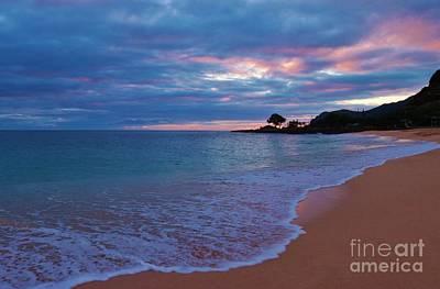Photograph - Pastel Sunset Ma'ili by Craig Wood