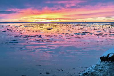 Photograph - Pastel Sunset by Matt Skinner