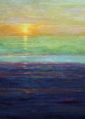 Digital Art - Pastel Sunset by Michelle Calkins