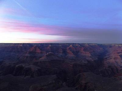 Pastel Sunset Over Grand Canyon Art Print