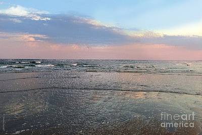 Digital Art - Pastel Sunset by Shelia Kempf