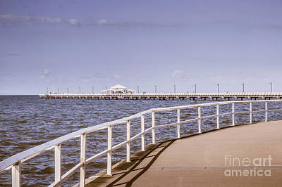 Photograph - Pastel Tone Sea Pier Landscape by Jorgo Photography - Wall Art Gallery