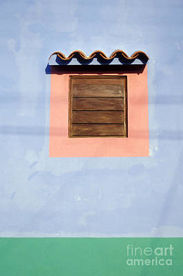 Art Print featuring the photograph Pastel Wall Gran Roque Venezuela by John  Mitchell
