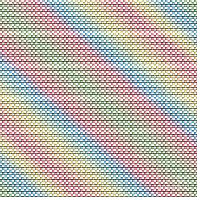 Digital Art - Pastel Weave by Susan Stevenson