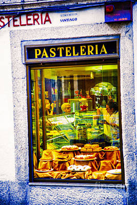 Photograph - Pasteleria by Rick Bragan