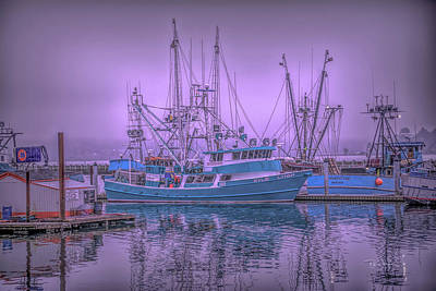 Photograph - Pastels In Fog by Bill Posner