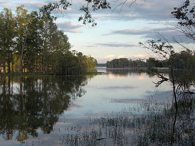 Lake Murray Photograph - Pastels N Low Contrast  by Skip Willits