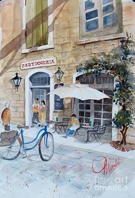 Painting - Pasticceria by Gerald Miraldi