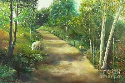Painting - Pastoral by Marlene Book