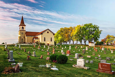Grave Yards Photograph - Pastoral Morn by Todd Klassy