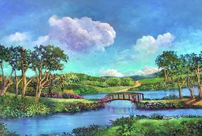 Painting - Pastoral Paradise by Randy Burns