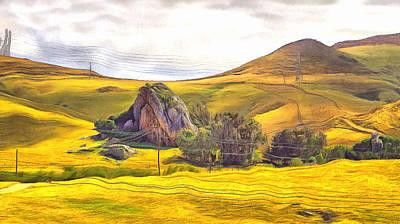 Digital Art - Pastoral Poetry At Chorro Creek by Viktor Savchenko