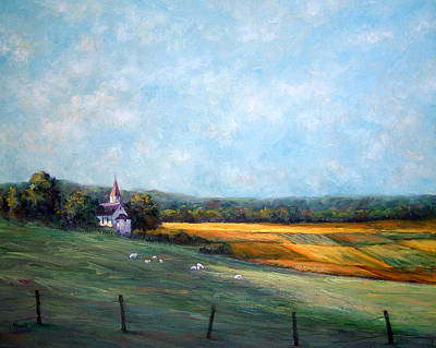 Painting - Pastoral Shadows by Jill Musser