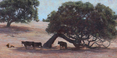 Wall Art - Painting - Pastoral by Terry Guyer