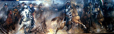 Pastrengo - The Charge II Art Print by Elisabeth Nussy Denzler von Botha