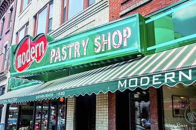 Photograph - Pastry Shop by Walt Baker