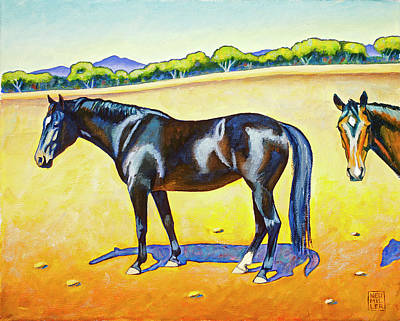 Painting - Pasture Pals 2 by Stacey Neumiller