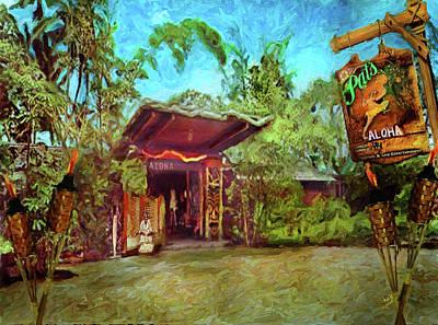Oahu Mixed Media - Pat's At Punaluu by Patrick J Gallagher