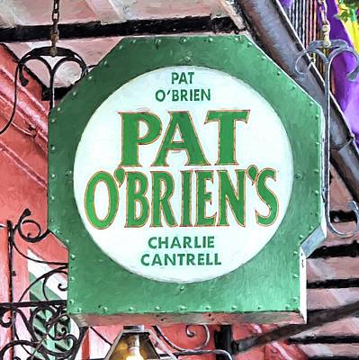 Photograph - Pat Obriens by JC Findley