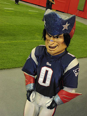 Photograph - Pat The Patriot by Mike Martin