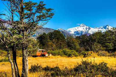 Photograph - Patagonia Countryside by Walt Sterneman