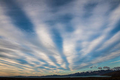 Photograph - Patagonia Morning Sky by Walt Sterneman