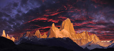 Fitz Photograph - Patagonia Sky by Christian Heeb