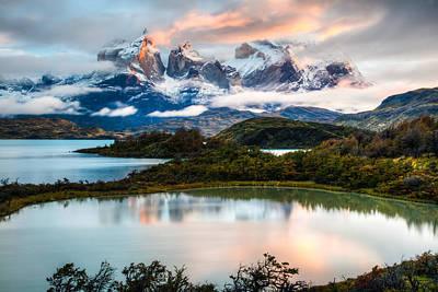 Photograph - Patagonia Sunrise by Walt Sterneman