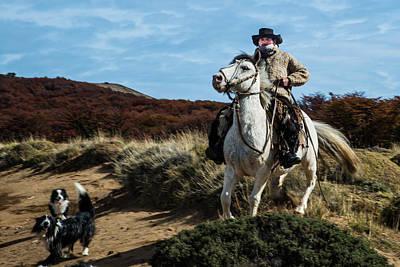 Photograph - Patagonian Gaucho by Walt Sterneman