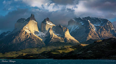 Photograph - Patagonian Sunrise by Andrew Matwijec