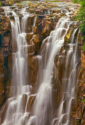 Lesotho Photograph - Patalpani Waterfall by Nilesh Bhange