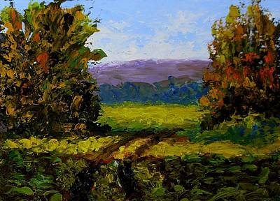 Painting - Patch Of Sunlight by Fred Wilson