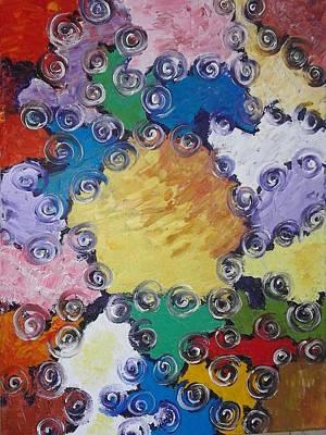 Painting - ''patchwork'' by Asia Dzhibirova