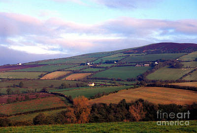 Strabane Photograph - Patchwork Fields Along Strabane Plumbridge Road by Thomas R Fletcher