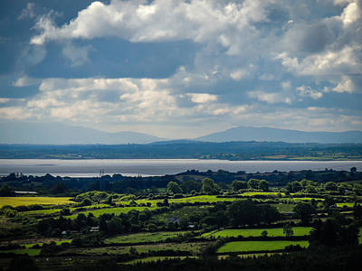 Photograph - Patchwork Greenery Of Ireland's County Clare by James Truett